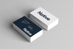 Native business cards